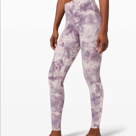 Lululemon Diamond Dye Align Leggings